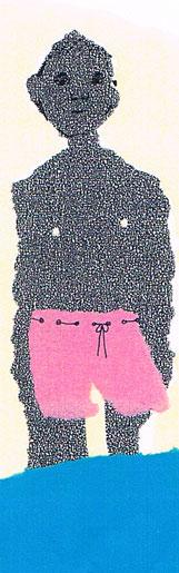 Bilder und Skizzen von Christine Aebi zum Das machen? Bilderbuch