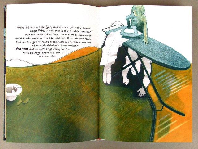 Doppelseite aus dem Bilderbuch 'Jenny. sieben'