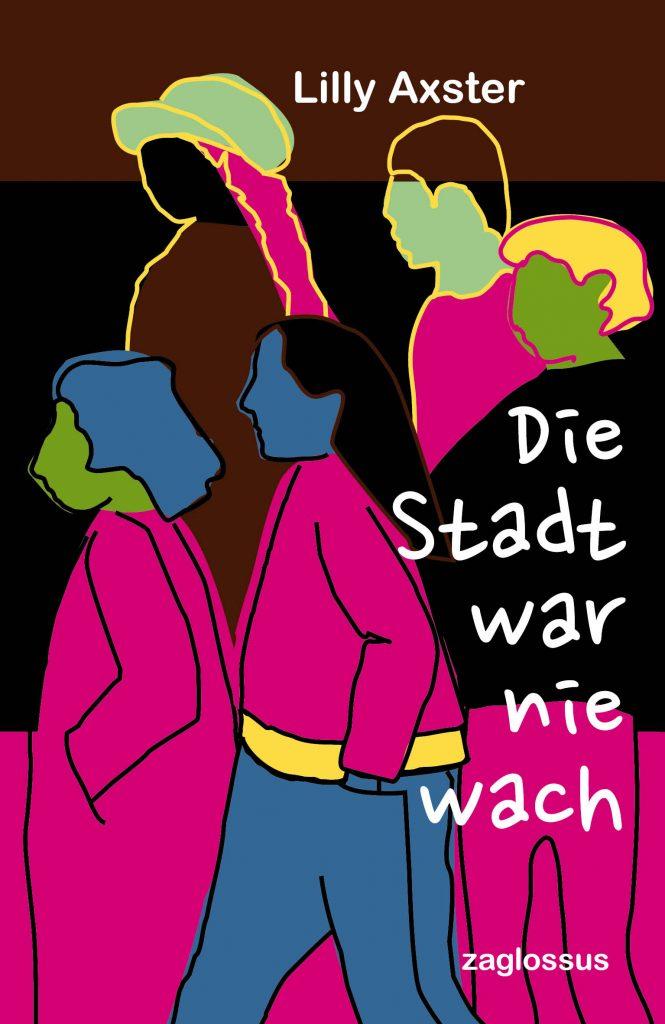 Umschlag: Dıe 5 Personen vom Roman 'Dıe Stadt war nıe wach'